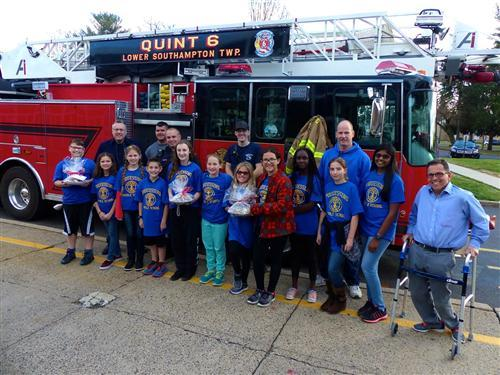 Club honors volunteer firefighters