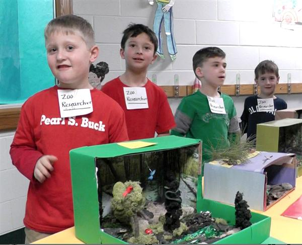 First grade zoo opens for visitors