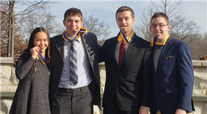 Business leader excel at regionals