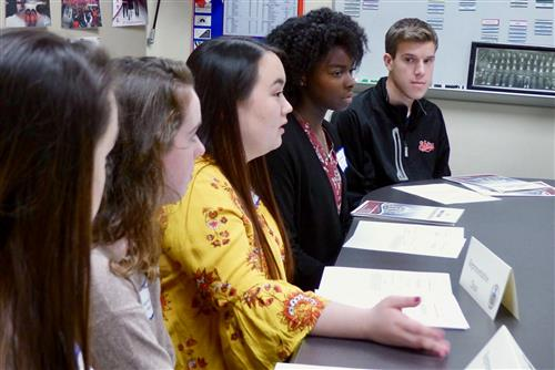 Students debate issues at Neshaminy High School