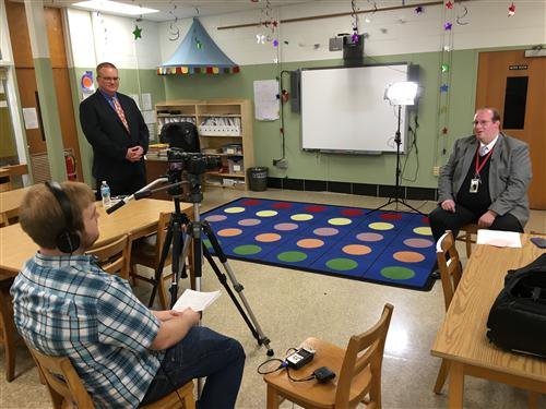 Lockhart principal interview at Schweitzer ES