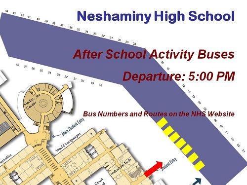 School Information After School Activity Bus
