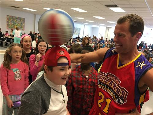 Harlem Wizards at Maple Point