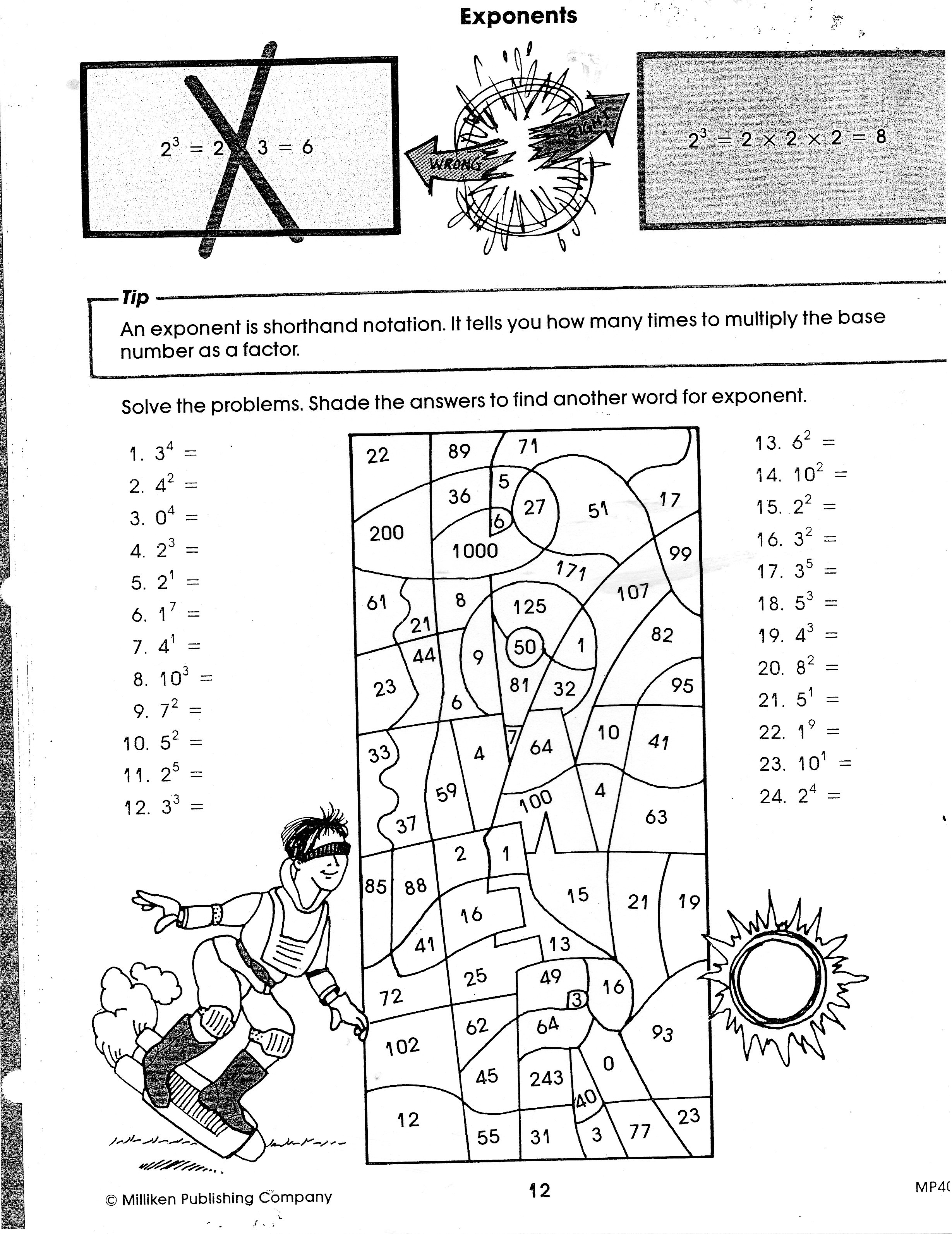 Displaying 19> Images For - Order Of Operations Puzzle Worksheets...